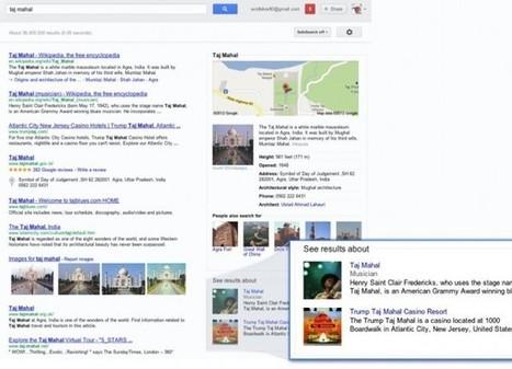 Google presenta Knowledge Graph, donde el buscador entiende conceptos, no palabras | Educación 2.0 | Scoop.it