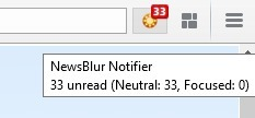 Newsblur: new notification Firefox extension | RSS Circus : veille stratégique, intelligence économique, curation, publication, Web 2.0 | Scoop.it
