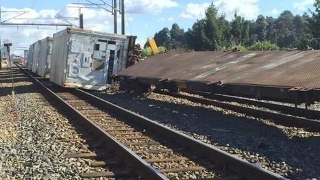 Heat blamed for train derailment | Railway's derailments and accidents | Scoop.it
