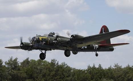 B-17 'Texas Raiders' Honors Veterans At Bluebonnet Airshow | All Things Texas | Scoop.it