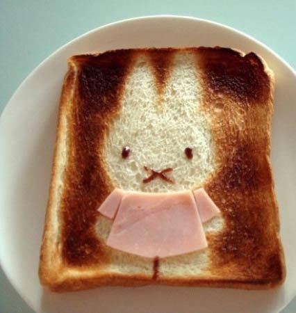 Cute Toast Art – Le petit déjeuner japonais devient Kawaii   What makes Japan unique   Scoop.it