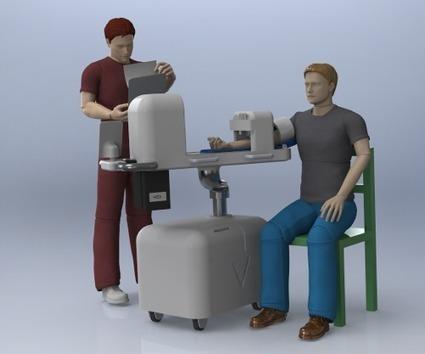 Robot médical innovant pour faire les prises de sang   Elektronique   Scoop.it