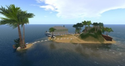 Island Paradise (new) | OpenSim Creations | Logicamp.org | Scoop.it