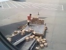 Lazy aeroplane cargo handler in China goes viral - video - Digital Spy | In Today's News of the Weird | Scoop.it
