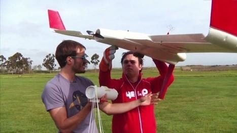 It's one delicious drone -- the Burrito Bomber | Future Retail Technologies | Scoop.it
