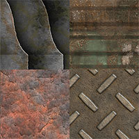 Download 10 Dirty and Rusty Metal Textures | Textures and Backgrounds Journal | Scoop.it