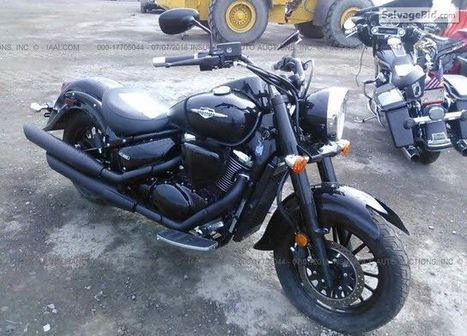 2014 Suzuki VL800 on online auction  | Salvage Auto Auction | Scoop.it