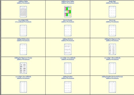 Over 800 Free Dynamic Math Worksheets for Teachers ~ Educational Technology and Mobile Learning   Zientziak   Scoop.it
