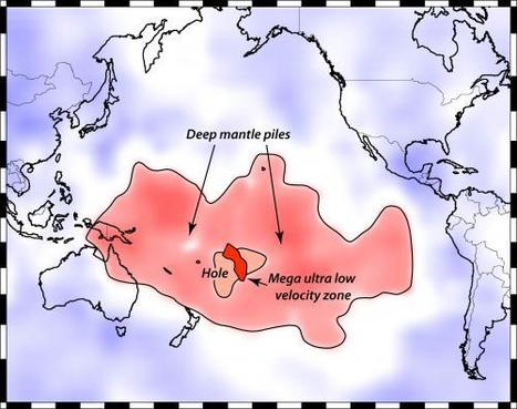 Deep roots of catastrophe: Partly molten, Florida-sized blob forms atop Earth's core | Amazing Science | Scoop.it