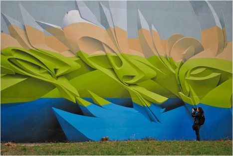3D Graffiti and Paintings by Peeta.... | Art for art's sake... | Scoop.it