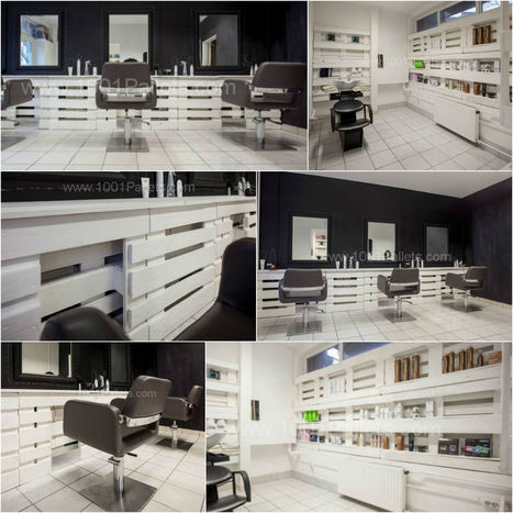 Pallet hair and nails salon in Hungary | Pallets | Scoop.it