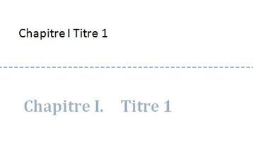 En-tête personnalisée avec les titres de chapitre sous Word | Claude RAMEIX | Scoop.it