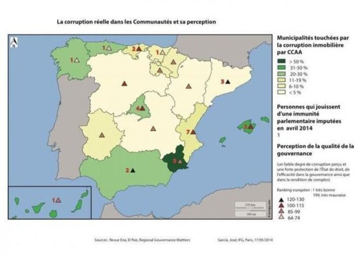 El Instituto Francés de Geopolítica sitúa a la Región de Murcia como líder de la corrupción urbanística en España | Partido Popular, una visión crítica | Scoop.it