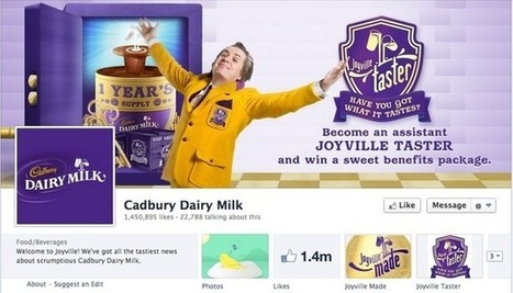 How Cadbury uses Facebook, Twitter, Pinterest and Google+ | Econsultancy | Social Media, the 21st Century Digital Tool Kit | Scoop.it