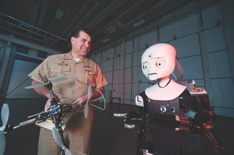 LASR: behind the curtain of the Navy's robotics laboratory | The Robot Times | Scoop.it