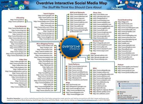 Social-Media-Map.jpg (1650x1200 pixels) | Brújula Analógica-Digital. | Scoop.it