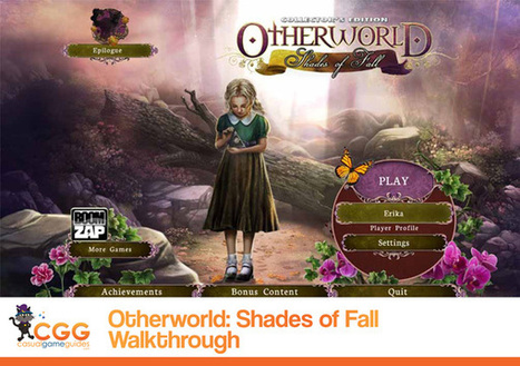 Otherworld: Shades of Fall Walkthrough: From CasualGameGuides.com | Casual Game Walkthroughs | Scoop.it
