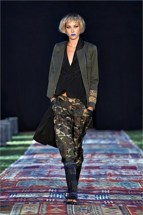 Dondup - Spring Summer 2013 Ready-To-Wear - Shows - Vogue.it | Le Marche & Fashion | Scoop.it