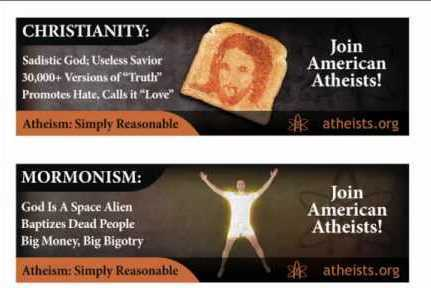 Complaints Cause Atheists To Retreat With Their Billboards - Freedom Outpost | Restore America | Scoop.it