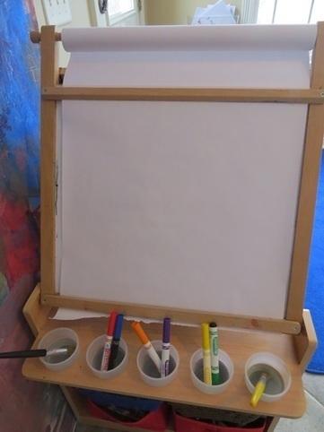 Smudge painting on the easel | Teach Preschool | Teach Preschool | Scoop.it