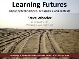 Learning Futures: Emerging technologies, pedago... | Course Technology | Scoop.it