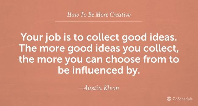 20 Ways To Be Creative When You Don't Feel Inspired | Redacción de contenidos, artículos seleccionados por Eva Sanagustin | Scoop.it