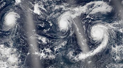 El Nino Raising Ocean Temperatures, Pacific Cyclones | Sustain Our Earth | Scoop.it