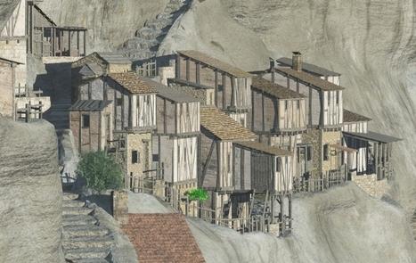 Vidéo : en Dordogne, la Roque Saint-Christophe revit en 3D | Web-design et nouvelles technos | Scoop.it