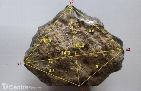 Ce chopping-tool de 2,7 millions d'années a été découvert dans l'ancien lit de la Loire | Aux origines | Scoop.it