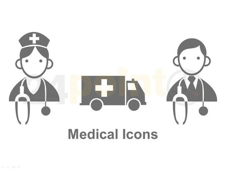 Medical Icons - Editable PowerPoint Business Diagrams   heart attack   Scoop.it