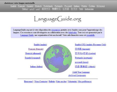 Blog TICE » Blog Archive » Language Guide : Vocabulaire sonore ... | TICE et italien - AU FIL DU NET | Scoop.it