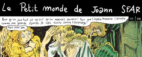 Le Petit monde de Joann SFAR – Site officiel de Joann Sfar, blog officiel du dessinateur Joann Sfar | Blonde Sans Filtre, c'est tout moi | Scoop.it