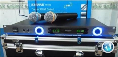 Micro không dây shure U830 | Tổng hợp | Scoop.it