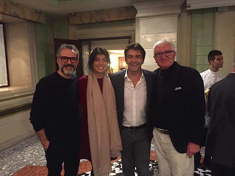Les Grandes Tables du Monde réunies à Venise… les chefs du monde entier en scène   MILLESIMES 62 : blog de Sandrine et Stéphane SAVORGNAN   Scoop.it