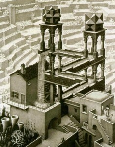 Escher's Waterfall Is Real! | Great Maths Teaching Ideas | #scimath | Scoop.it