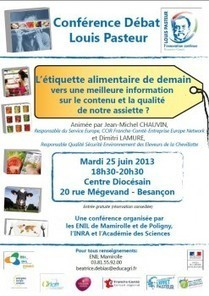 L'étiquette agroalimentaire de demain : conférence | Les news concernant l'ENIL, fromagerie, agroalimentaire, eau... | Scoop.it