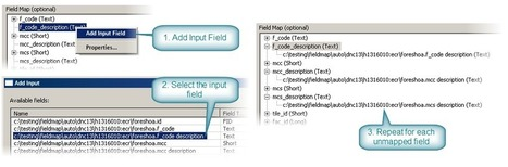 Field mapping and Python scripting | ArcGIS Resource Center | ArcPY - Python | Scoop.it