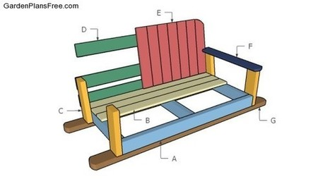 Swing Bench Plans | Free Garden Plans - How to build garden projects | Garden Plans | Scoop.it