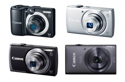 Neue Canon Kompaktkameras 2013 - 4 neue Powershot und eine Ixus | Camera News | Scoop.it