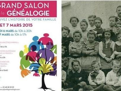 Le Grand Salon de la Généalogie à la mairie du 15ème arrondissement de Paris du 6 au 7 mars 2015 | Histoire Familiale | Scoop.it