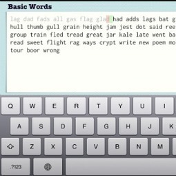 TapTyping -- typing trainer | iPad Learners | Scoop.it