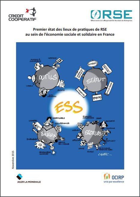 ESS et RSE : 1er état des lieux - Guide ORSE / Crédit Coopératif | Avise.org | Responsabilité sociale des entreprises (RSE) | Scoop.it