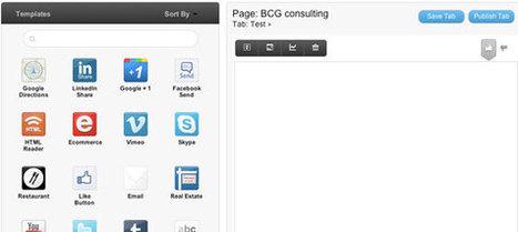 10 Applications Facebook Pour Créer Une Landing Page | Emarketinglicious | LA MACHINE A ECRIRE .NET | Scoop.it
