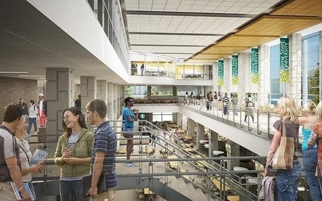 Gaze Upon the Glassy Future of Wayne State's Student Center | Detroit Rebuilding | Scoop.it