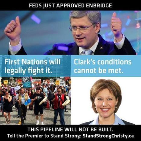 Harper Administration approved #Enbridge #TarSands w/o POTUS - See the Pattern? #IdleNoMore | IDLE NO MORE WISCONSIN | Scoop.it