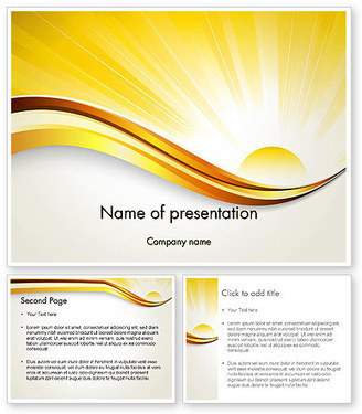 Rising Sun PowerPoint Template | PowerPoint Presentations and Templates | Scoop.it