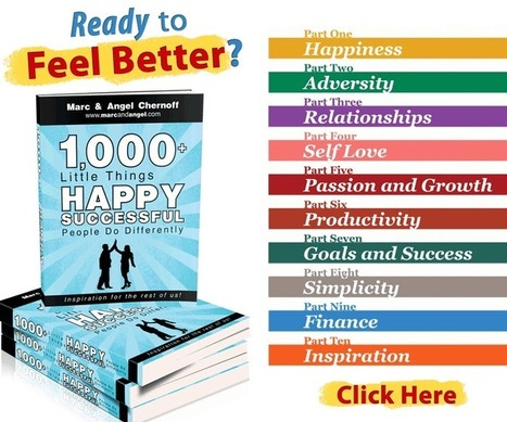 1,000+ Little Things Happy, Successful People Do Differently   Holistic Justice   Scoop.it
