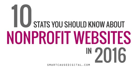 10 Stats You Should Know About Nonprofit Websites in 2016 | Nonprofit Online Communications | Scoop.it