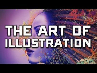 The Art of Illustration [VIDEO]   WEBOLUTION!   Scoop.it