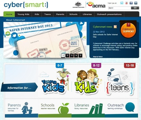 Cybersmart - Australia   Cybersafety   Scoop.it